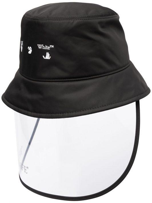 Off-White Keep Safe visor bucket hat - Schwarz