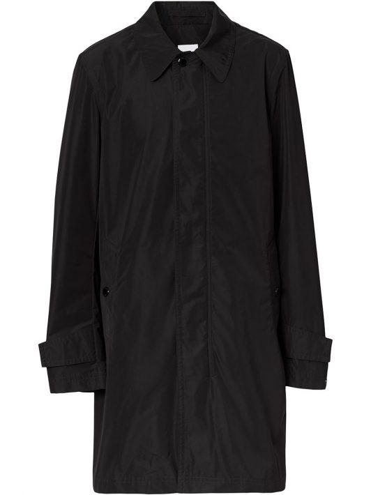 Burberry TB motif car coat - Schwarz