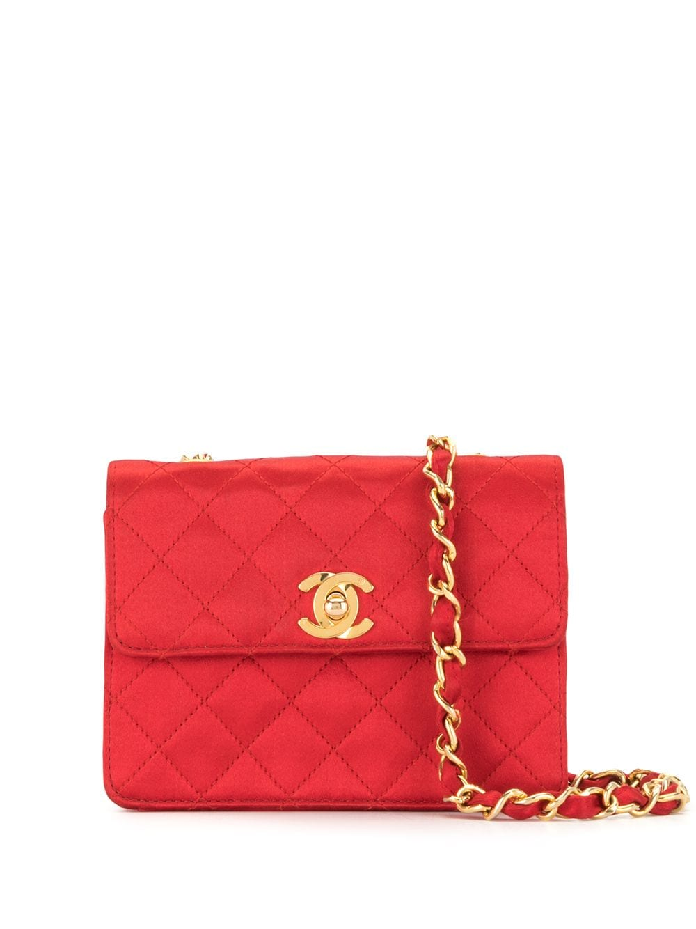Chanel Pre-Owned 1990s Umhängetasche - Rot