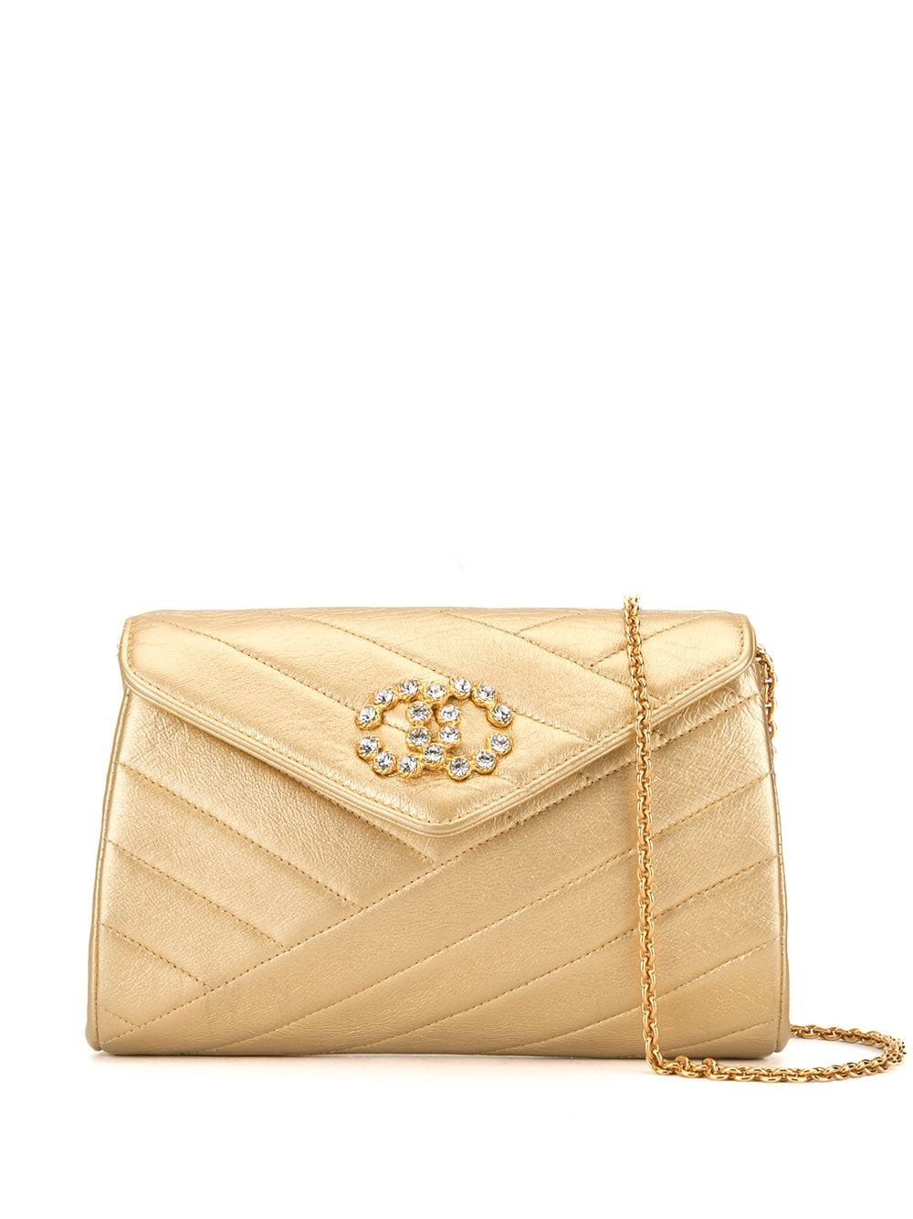 Chanel Pre-Owned 1992s Handtasche - Gold
