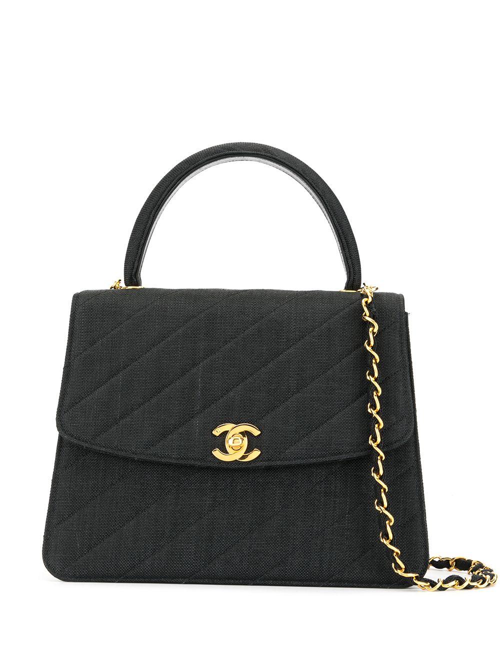Chanel Pre-Owned 1992s Handtasche - Schwarz