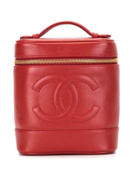 Chanel Pre-Owned 1995 Kosmetiktasche - Rot