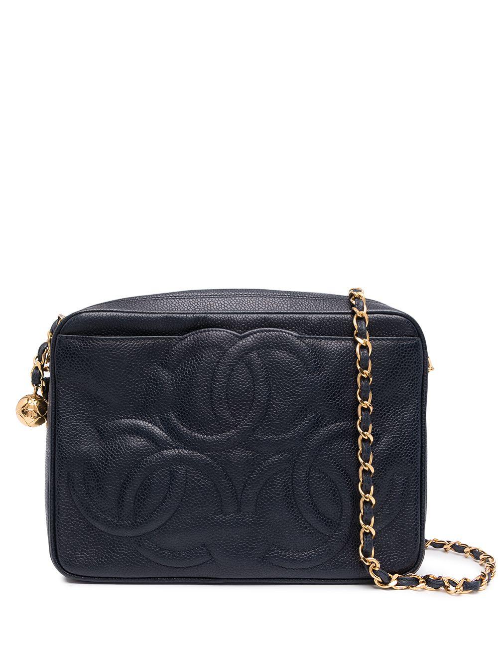 Chanel Pre-Owned 1995 Umhängetasche mit CC - Blau