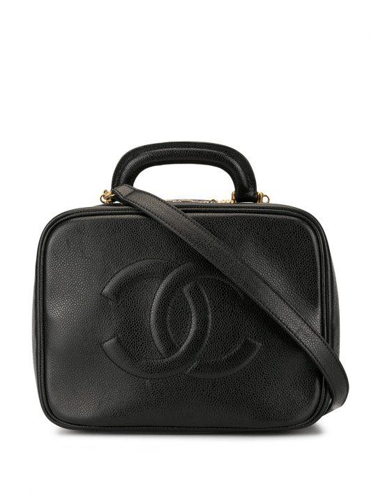 Chanel Pre-Owned 1998s Kosmetiktasche - Schwarz