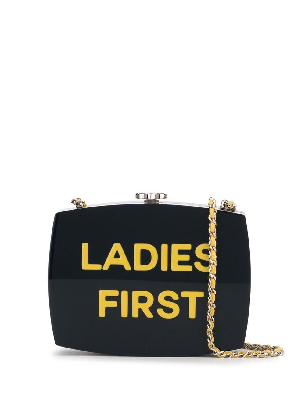 Chanel Pre-Owned 2015 Ladies First Umhängetasche - Blau