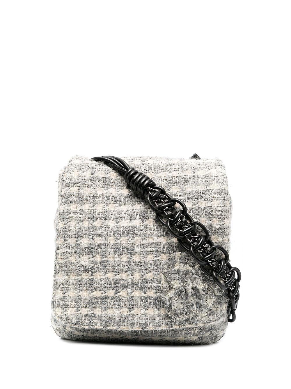 Chanel Pre-Owned 2019 Tweed-Umhängetasche - Nude