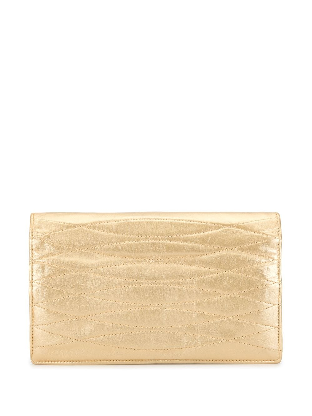 Chanel Pre-Owned Gesteppte Clutch - Gold