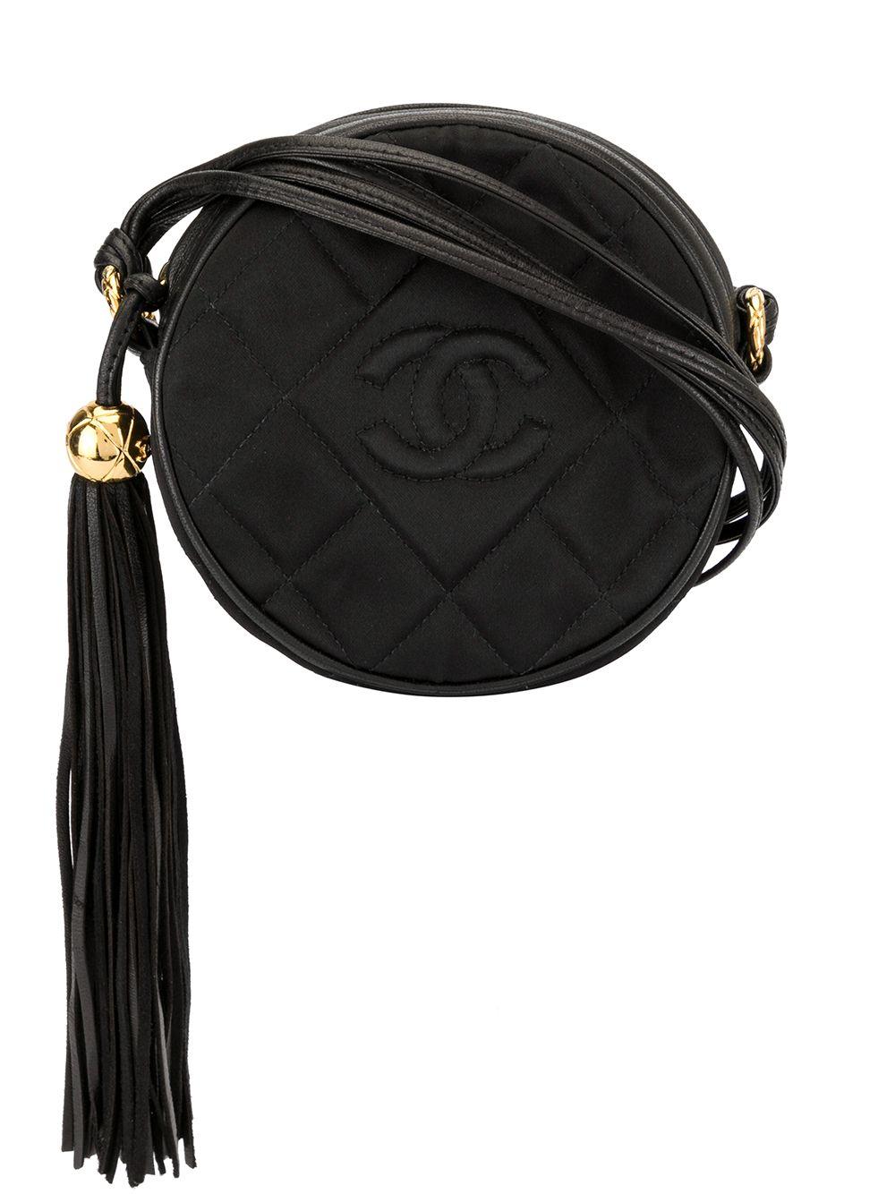 Chanel Pre-Owned Gesteppte Umhängetasche - Schwarz
