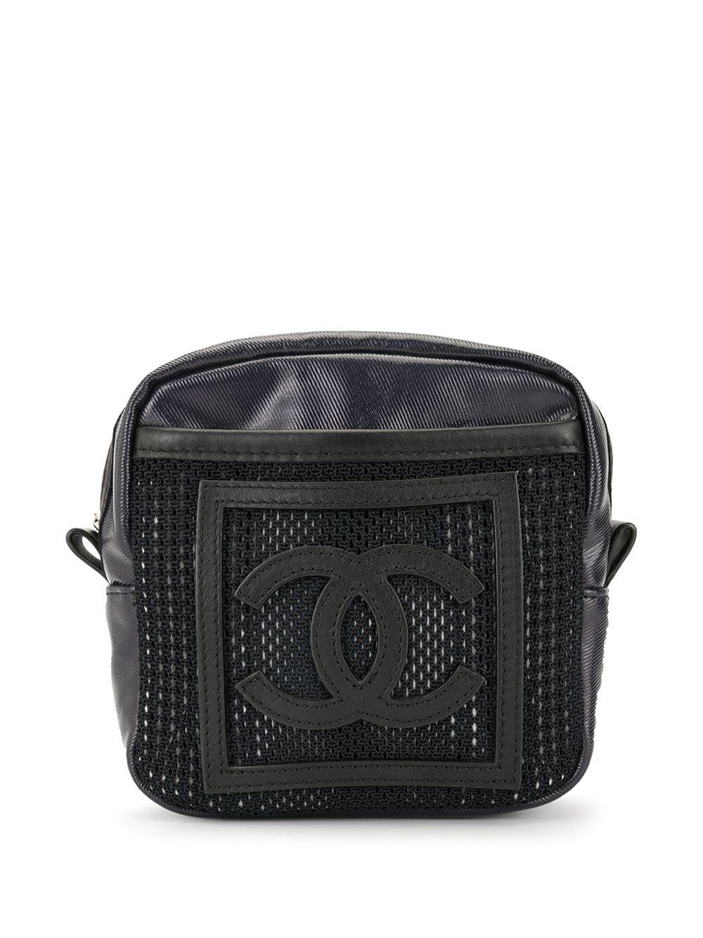 Chanel Pre-Owned 'Sports Line CC' Clutch - Schwarz