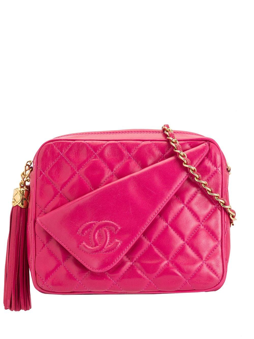 Chanel Pre-Owned Umhängetasche mit Quaste - Violett