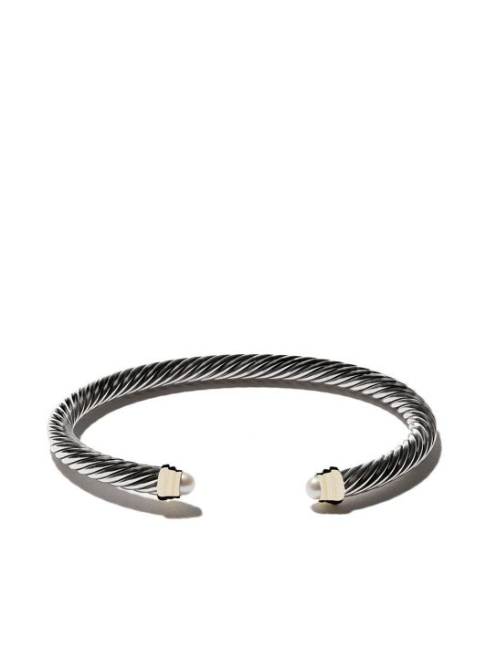 David Yurman 'Cable' Armspange aus Sterlingsilber - S4BPE