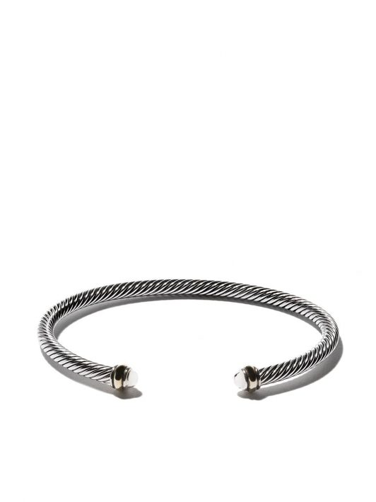 David Yurman 'Cable' Armspange aus Sterlingsilber - S8