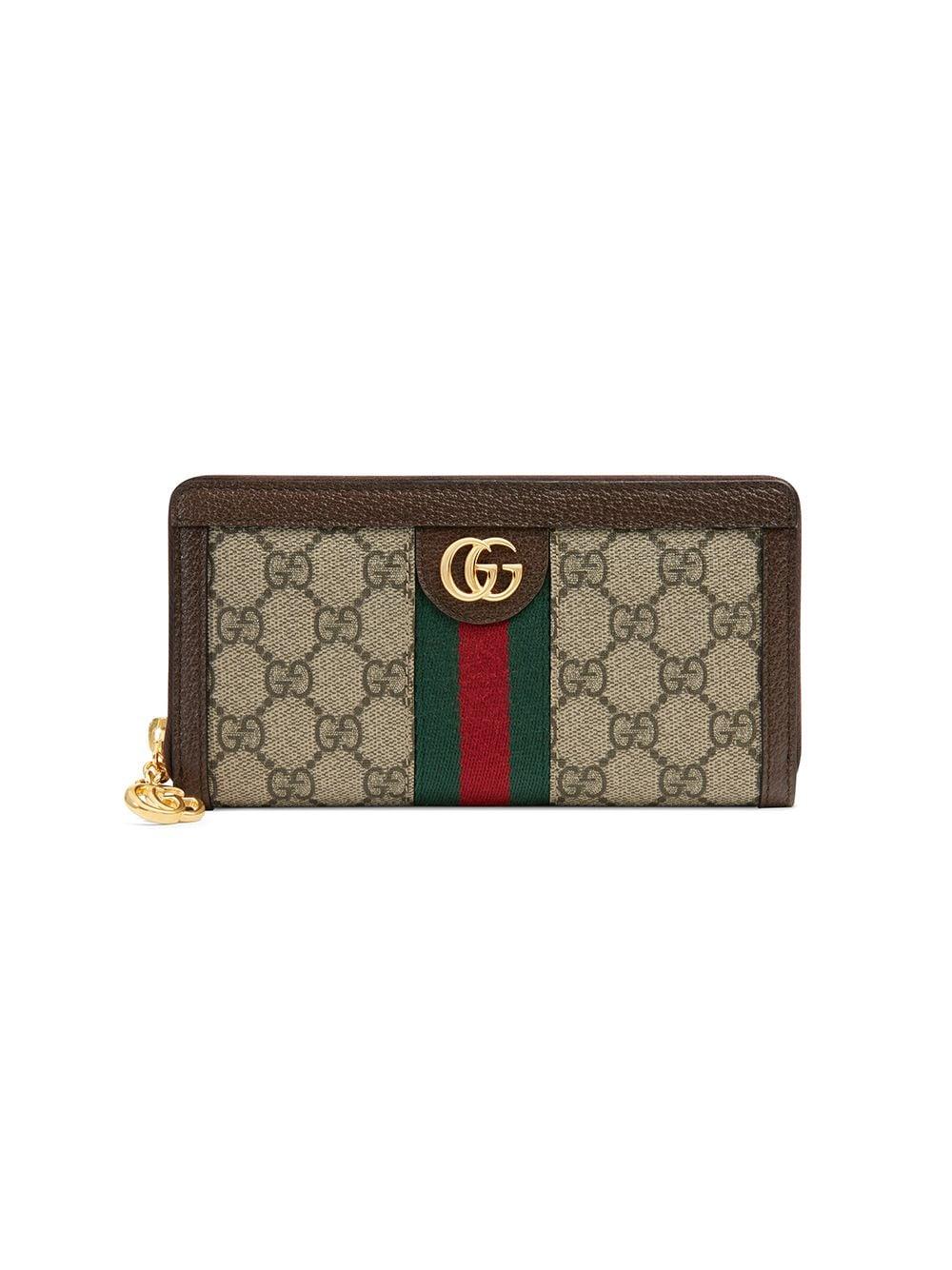 Gucci 'Ophidia' Portemonnaie - Nude