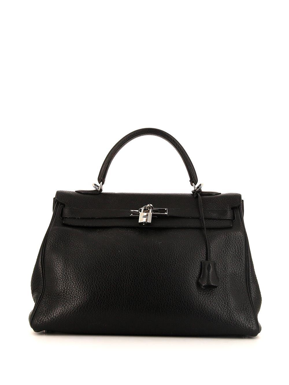 Hermès 2008 pre-owned Kelly Handtasche, 35mm - Schwarz