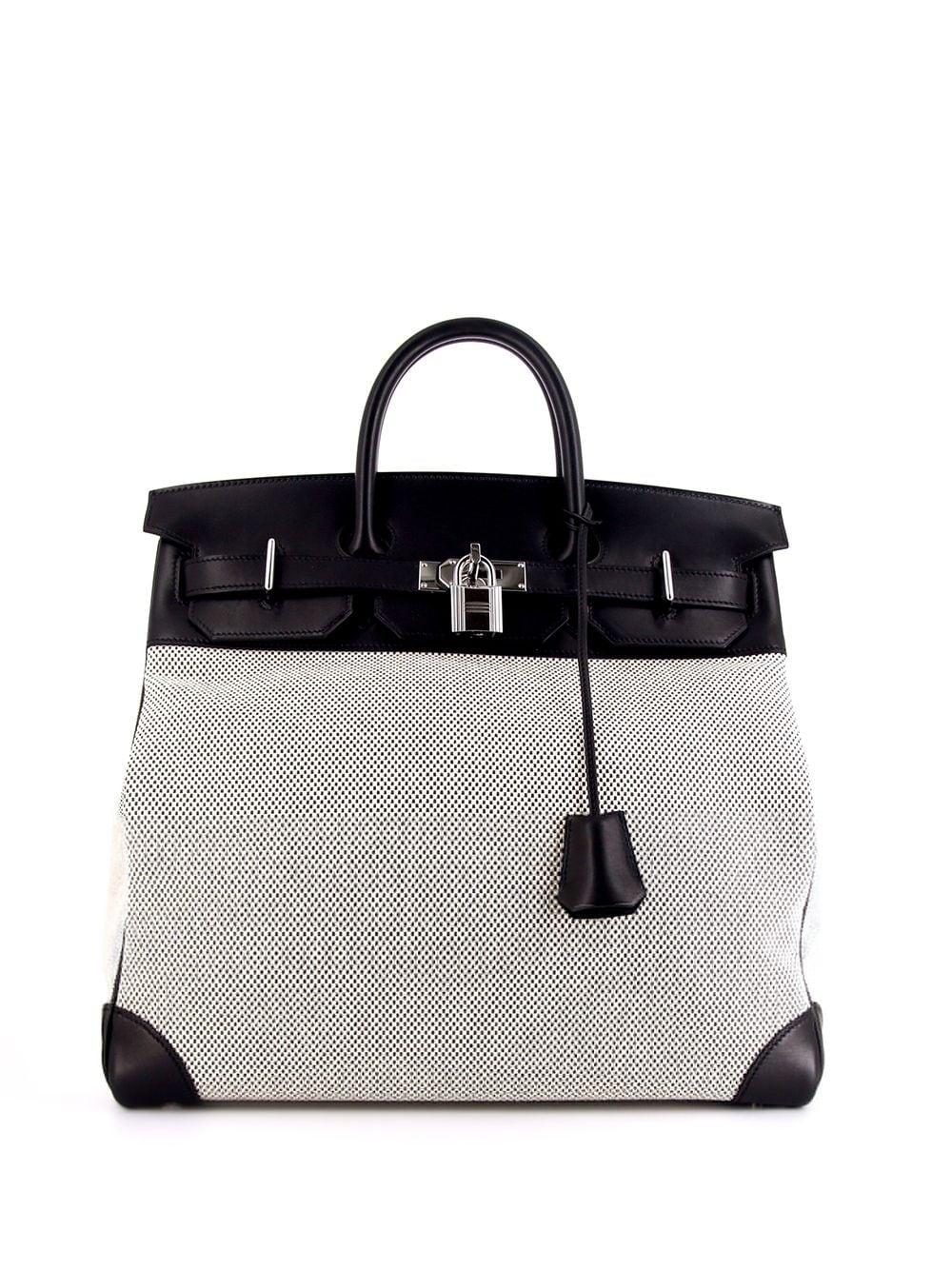 Hermès 2016 pre-owned Haut à Courroies Reisetasche - BLACK