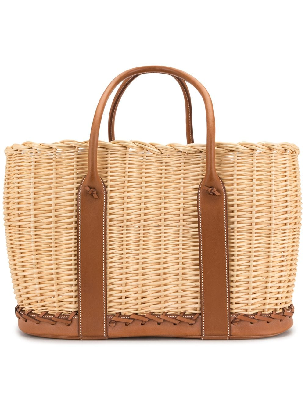 Hermès Pre-owned Garden Handtasche - Braun