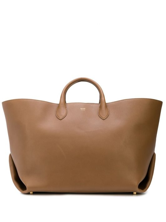 Khaite 'The Large Envelope Pleat' Handtasche - Braun