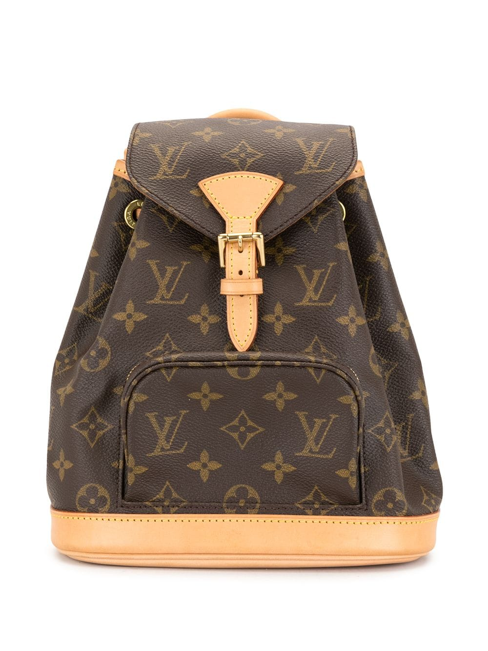 Louis Vuitton 1996 pre-owned Mini Montsouris Rucksack - Braun