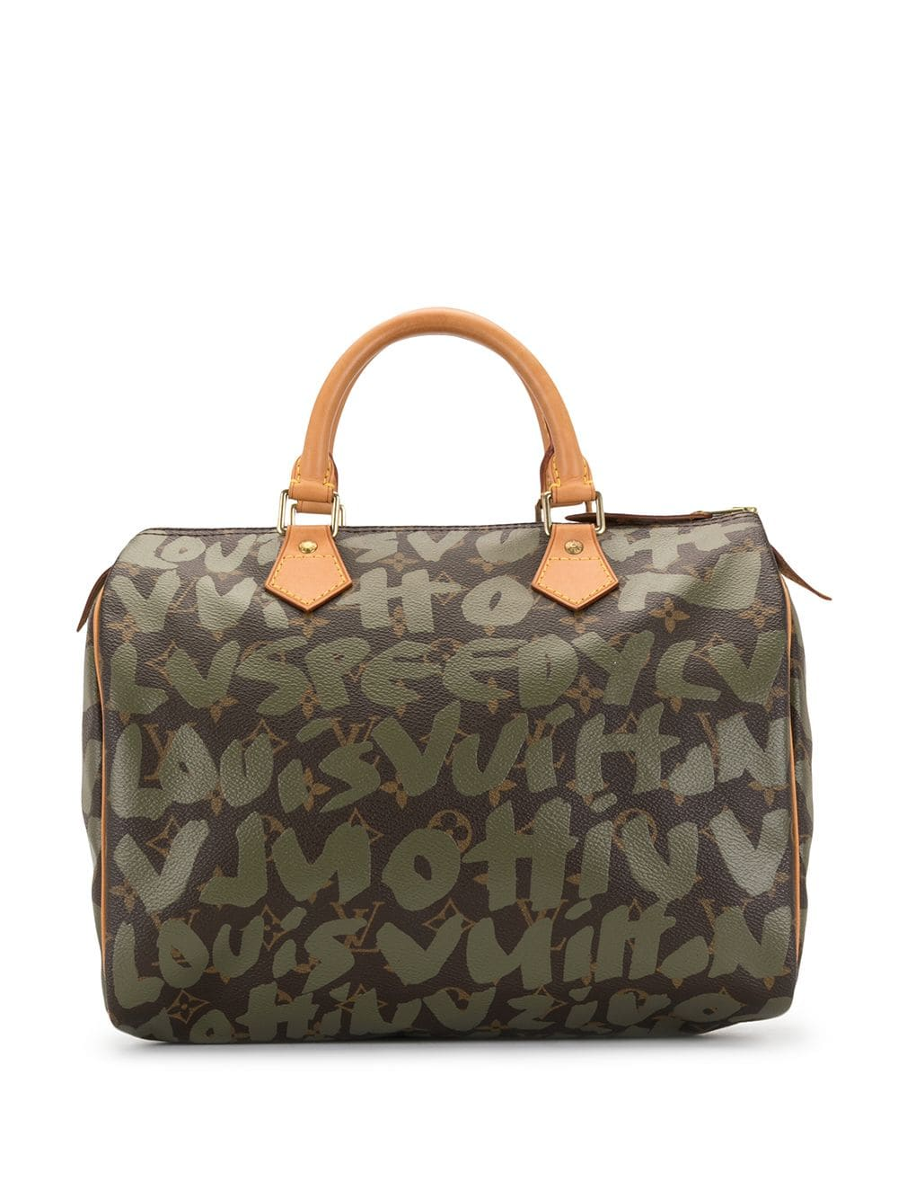 Louis Vuitton 2001 pre-owned Speedy Handtasche, 30cm - Braun