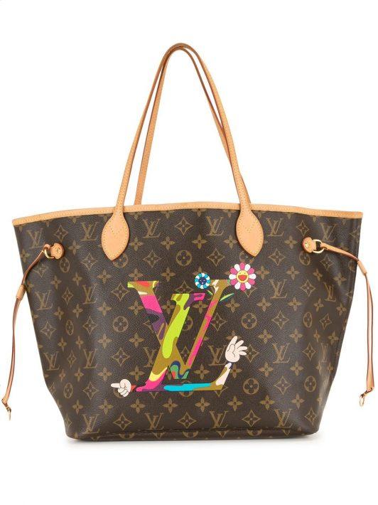 Louis Vuitton 2007 pre-owned Neverfull Shopper - Braun