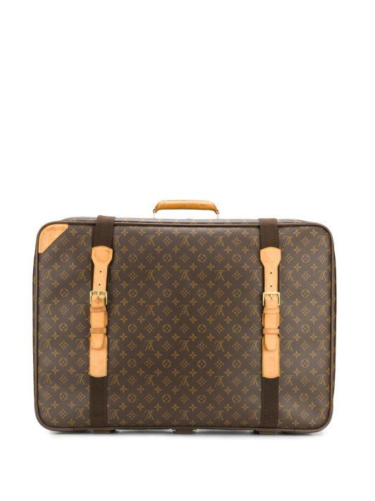Louis Vuitton Pre-owned Reisetasche mit Print - Braun