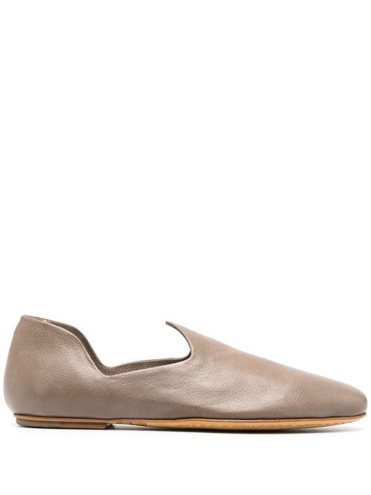 Officine Creative cut-out detail loafers - Nude