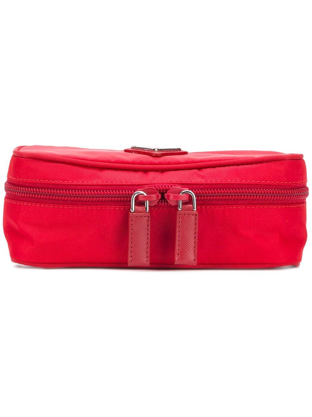 Prada Längliches Portemonnaie - Rot