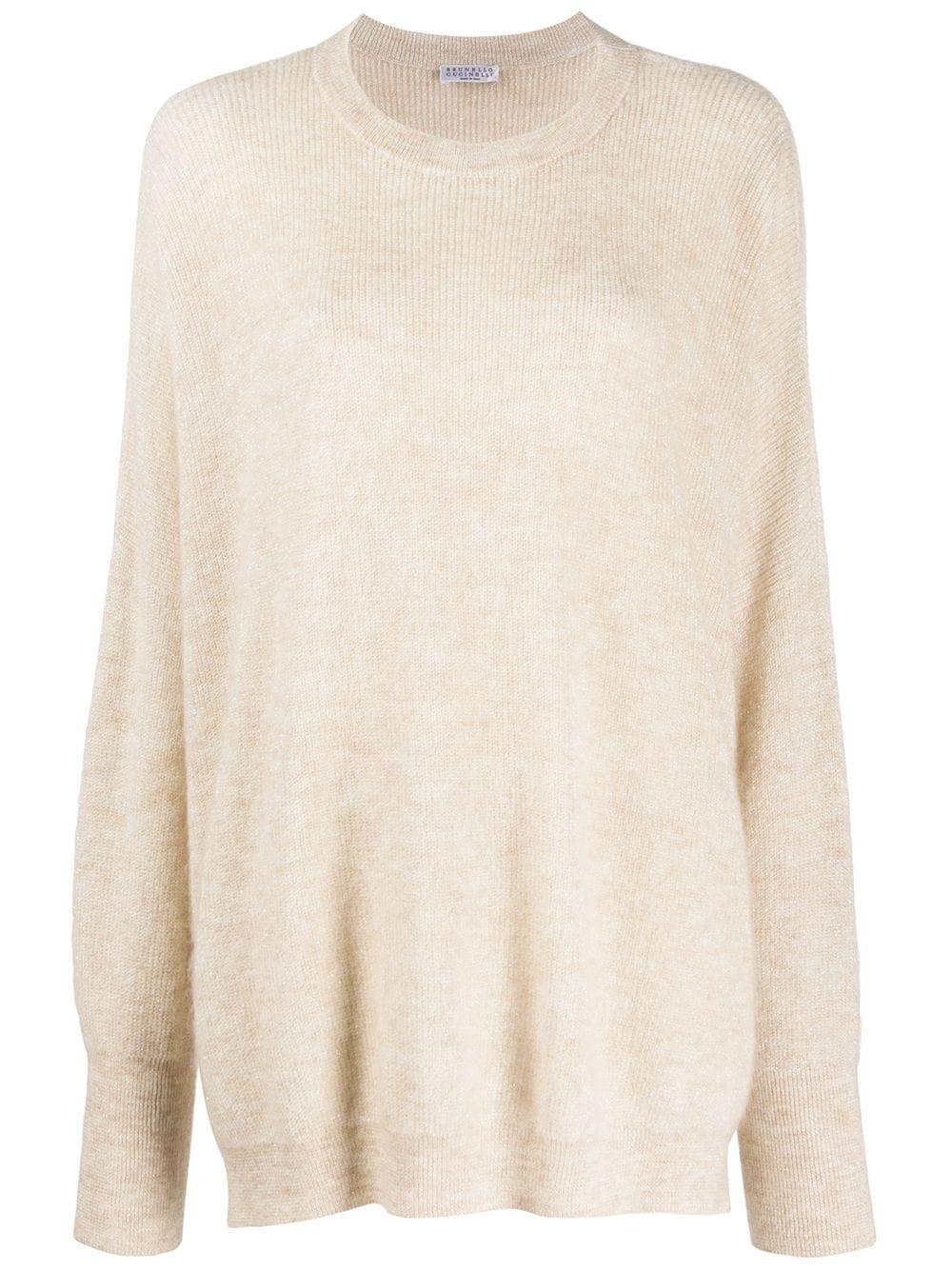 Brunello Cucinelli Klassischer Pullover - Nude