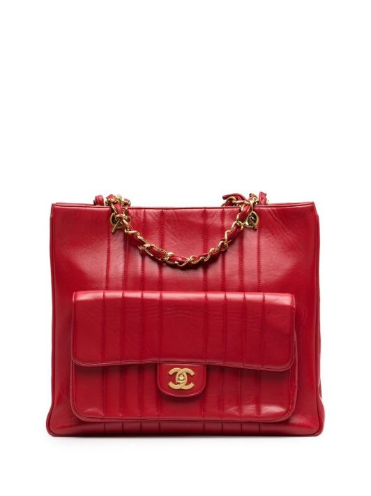Chanel Pre-Owned 1991-1994 Shopper - Rot