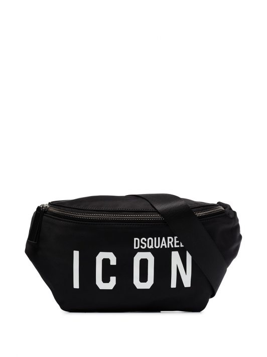 Dsquared2 Icon belt bag - Schwarz