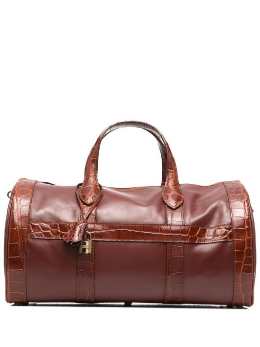 Hermès 1992 pre-owned Handtasche aus Epi-Leder - Braun