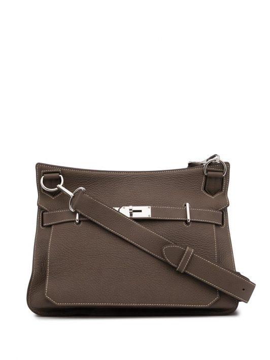 Hermès 2011 pre-owned Jypsiere Schultertasche 31cm - Braun