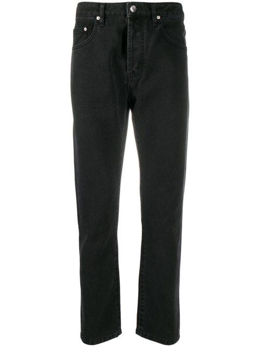 Kenzo Jeans mit geradem Bein - Schwarz