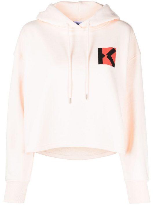 Kenzo Sport Blocked K hoodie - Nude