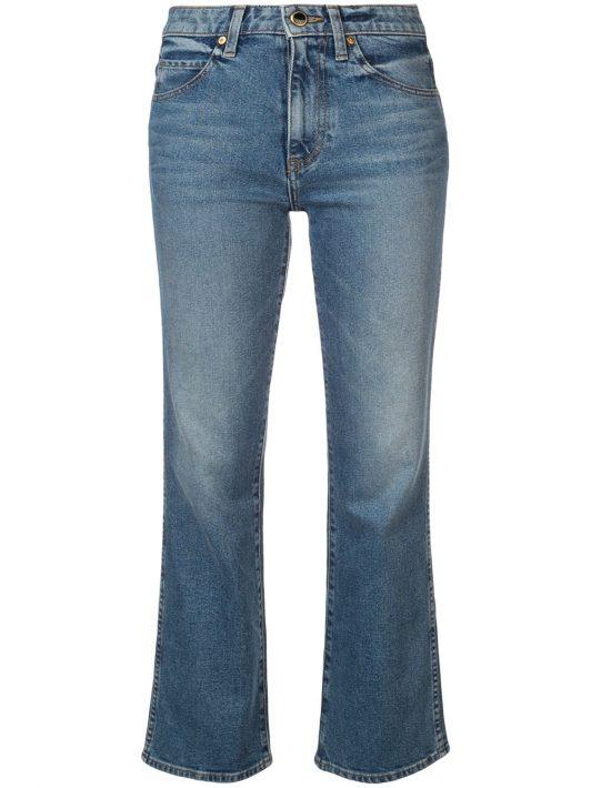 Khaite 'The Vivian' Jeans - Blau