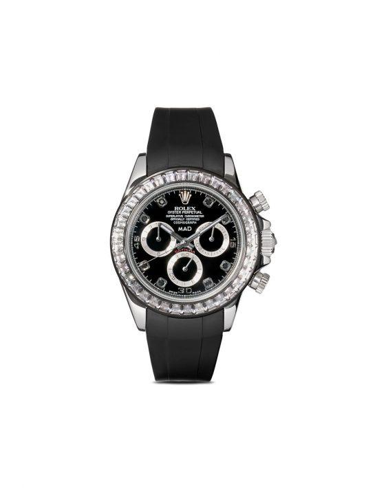 MAD Paris customised Rolex Cosmograph Daytona 40mm - Schwarz