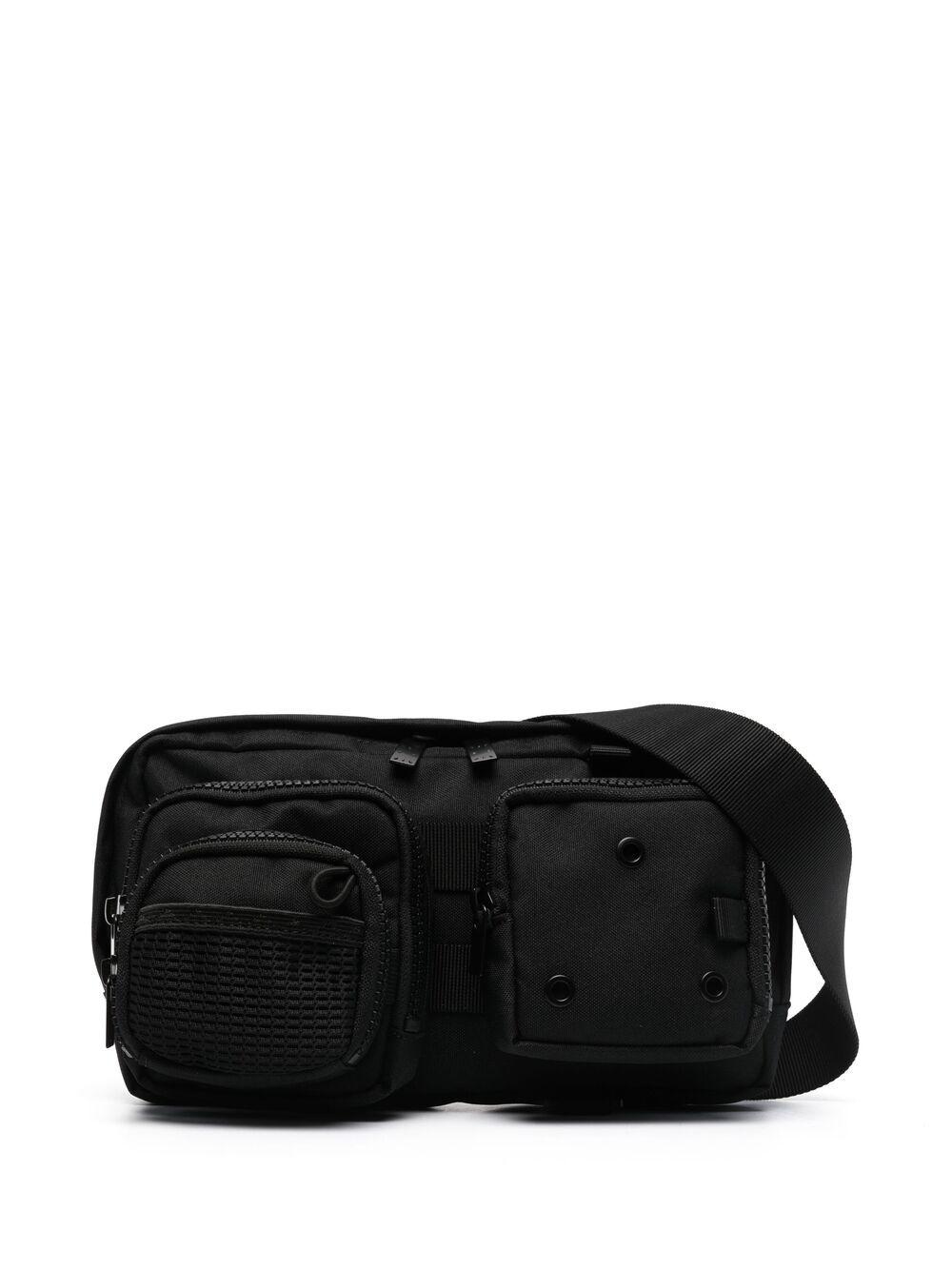 MCQ multi-pocket belt bag - Schwarz
