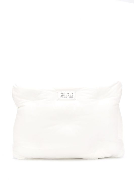 Maison Margiela 'Glam Slam' Clutch - Weiß