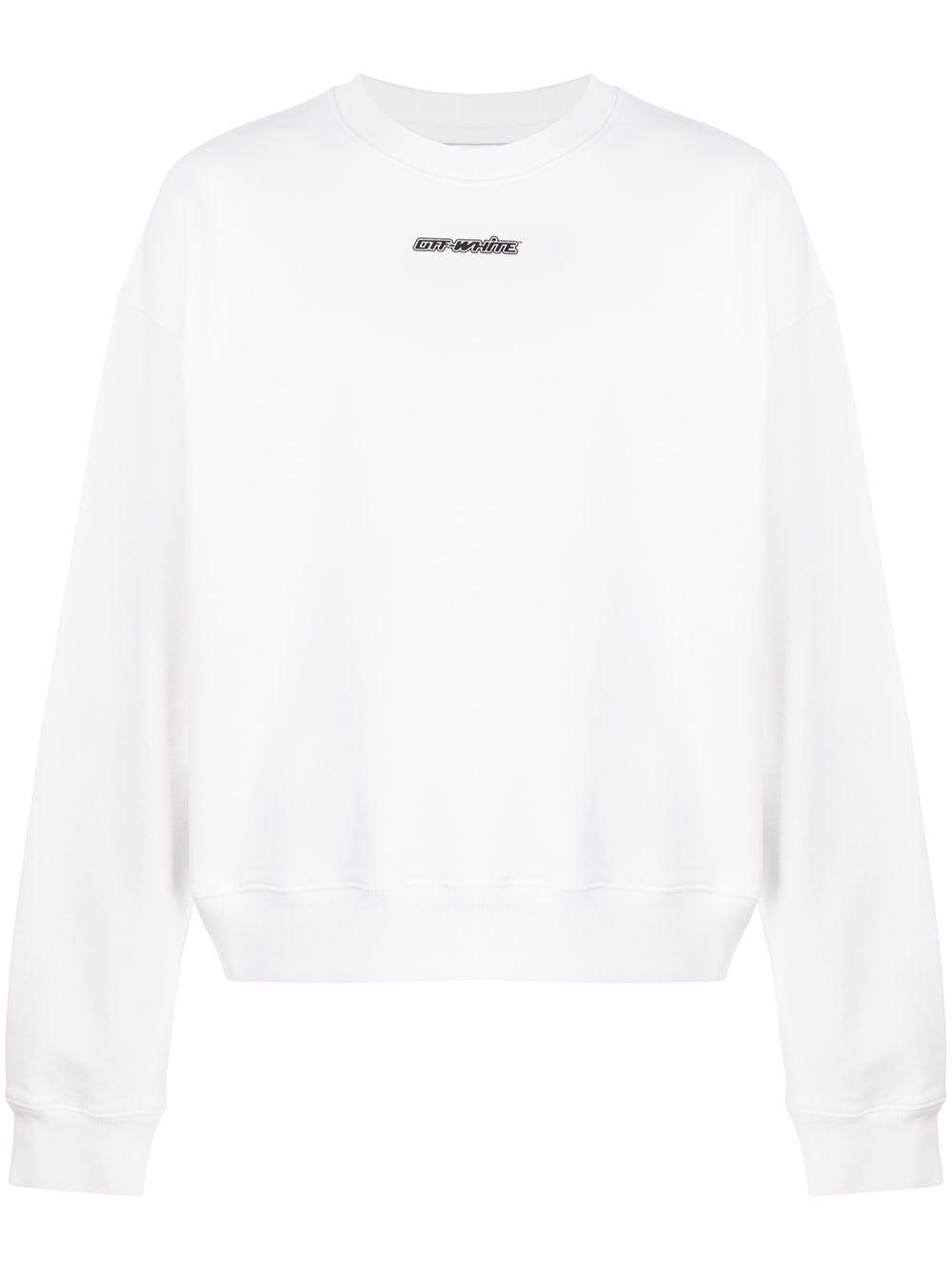 """Off-White Sweatshirt mit """"Marker Arrows""""-Print - Weiß"""