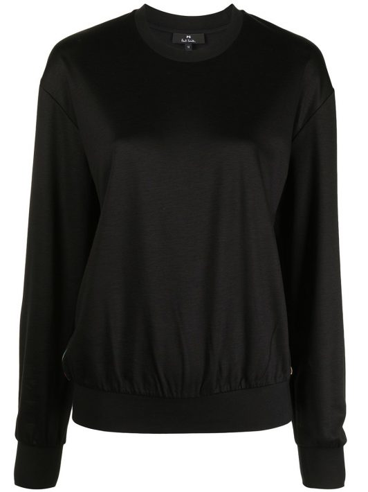 PS Paul Smith contrast-trim sweatshirt - Schwarz