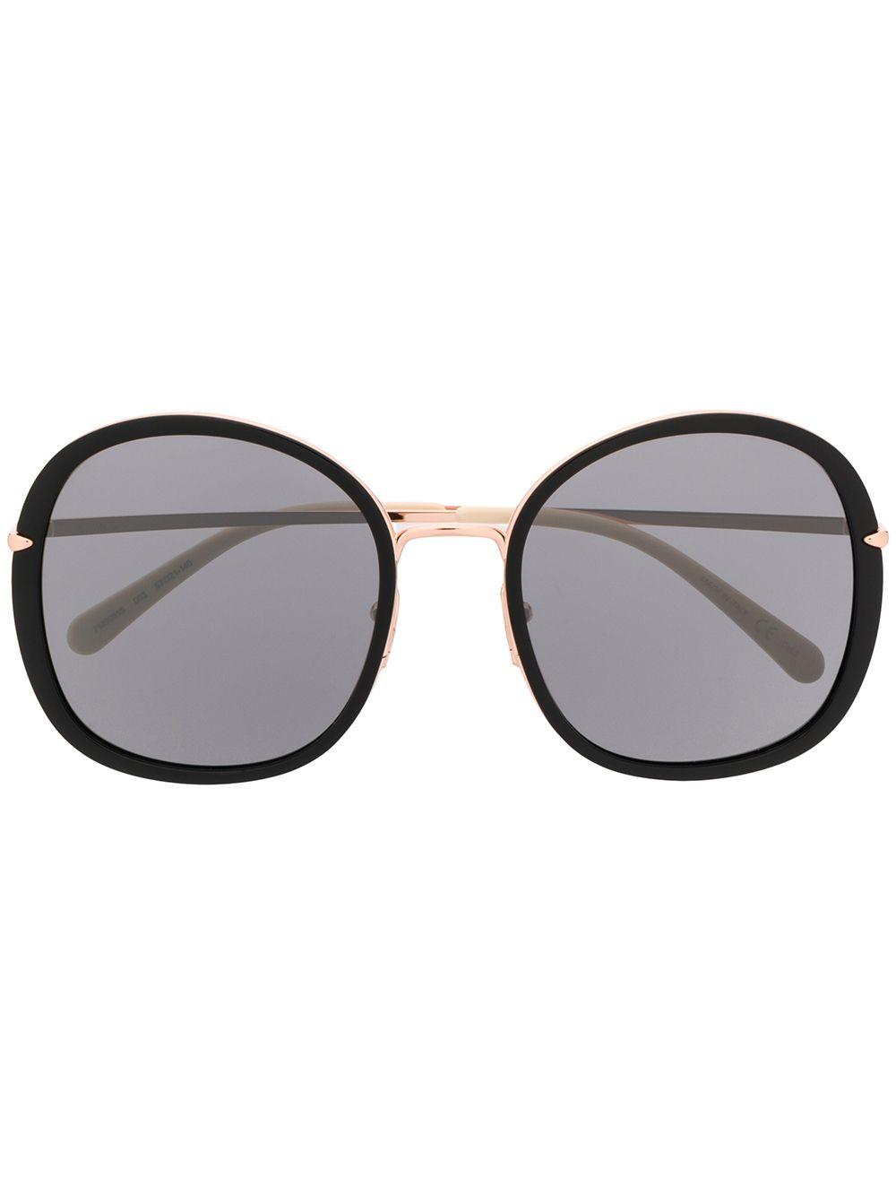 Pomellato Eyewear Klassische Oversized-Sonnenbrille - Schwarz