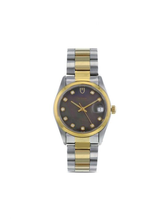 TUDOR 2000s pre-owned Oyster Prince 34mm - Nude