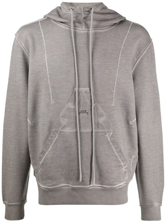 A-COLD-WALL* Diesel Red Tag x A-Cold-Wall* Kapuzenpullover - Grau