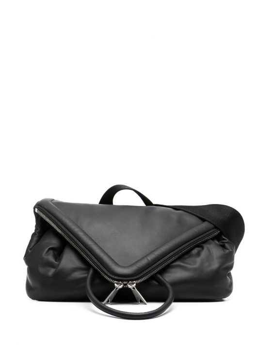 Bottega Veneta Beak leather belt bag - Schwarz