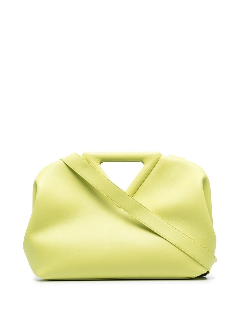 Bottega Veneta Point Handtasche - Gelb