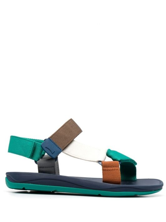 Camper Match touch-strap sandals - Grün