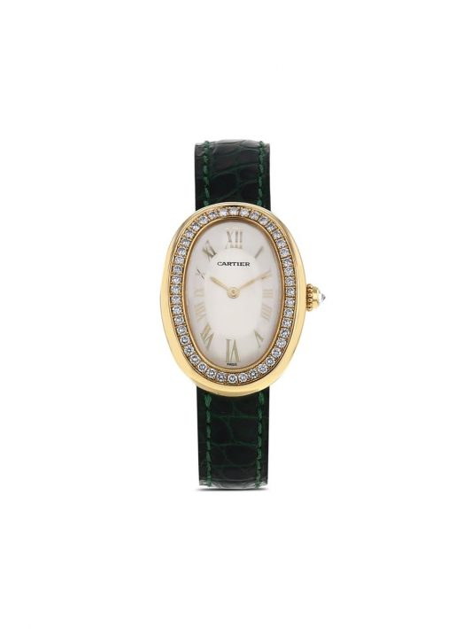 Cartier 1990s pre-owned Baignoire 23mm - Gold