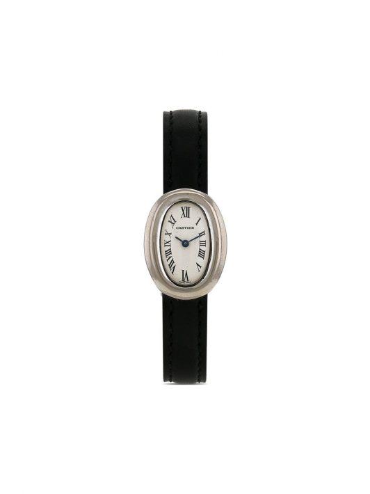 Cartier 1990s pre-owned Baigonoir mini 20mm - Weiß