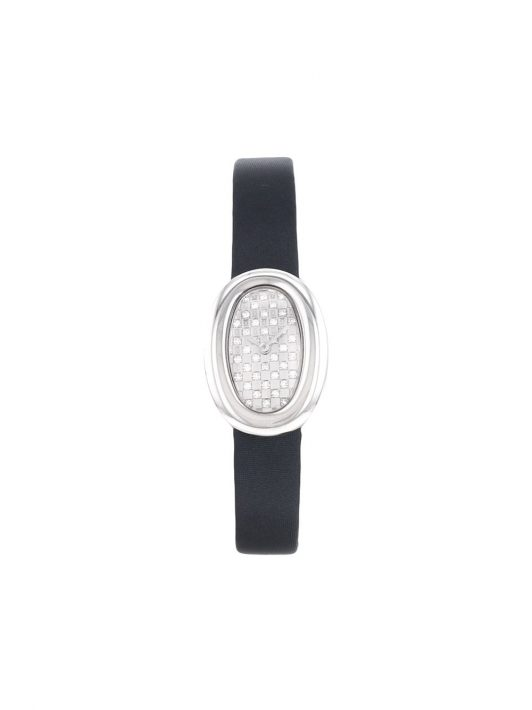 Cartier 2010s pre-owned Baignoire Joaillerie mini 18mm - Grau