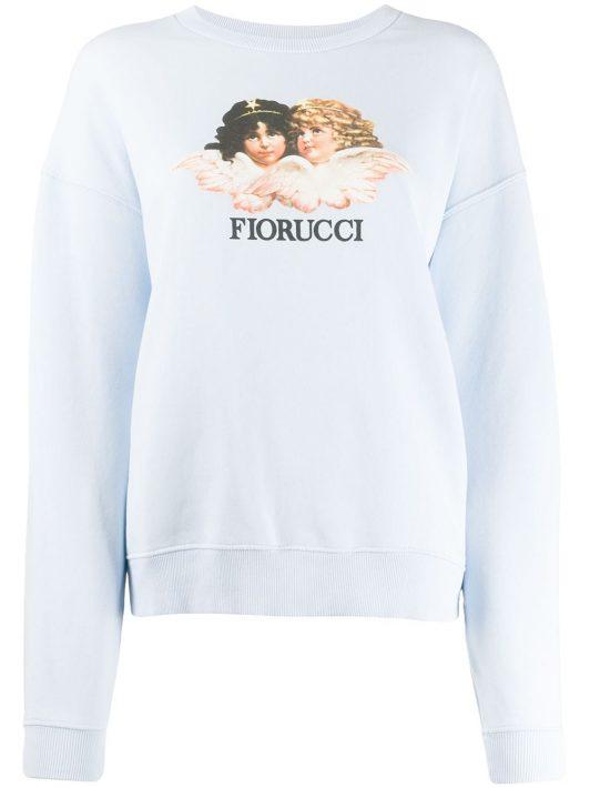 Fiorucci 'Vintage Angels' Sweatshirt - Blau